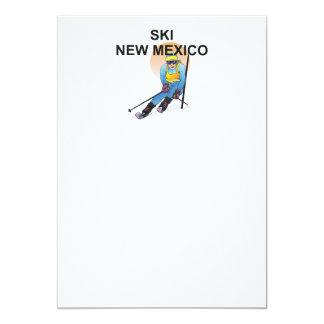"""Esquí SUPERIOR New México Invitación 5"""" X 7"""""""