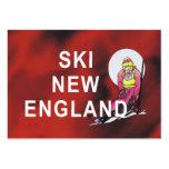 Esquí SUPERIOR Nueva Inglaterra Tarjeta De Negocio
