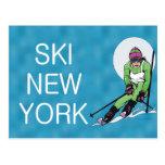 Esquí SUPERIOR Nueva York Postales
