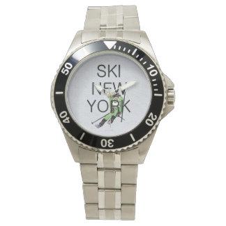 Esquí SUPERIOR Nueva York Relojes De Pulsera