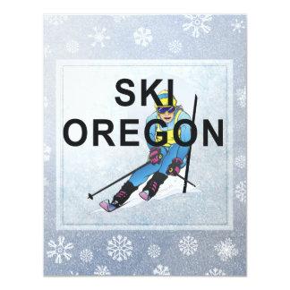 Esquí SUPERIOR Oregon Invitaciones Personalizada