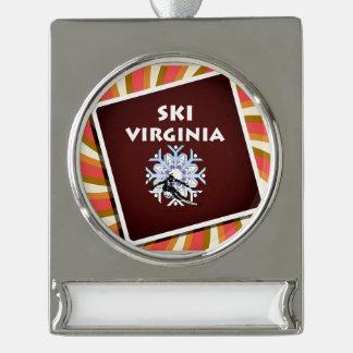Esquí SUPERIOR Virginia Adornos Personalizables