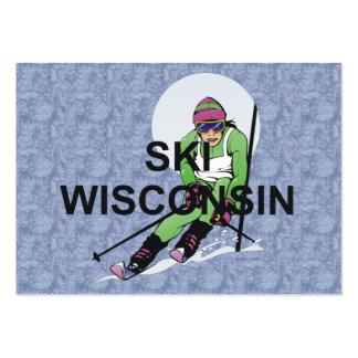 Esquí SUPERIOR Wisconsin Tarjeta De Negocio