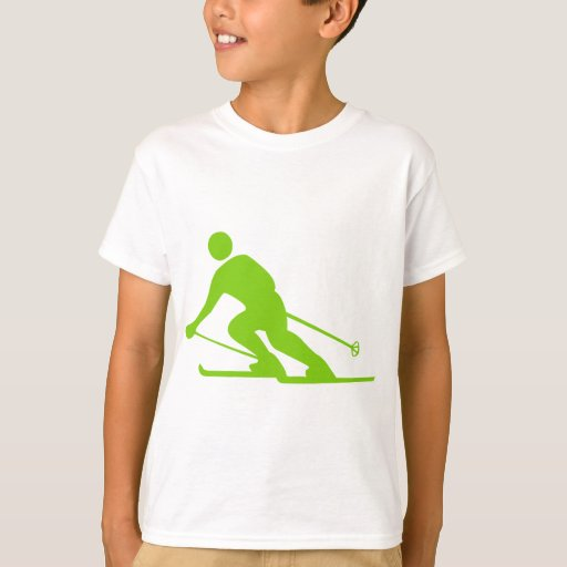 Esquí - verde de Martian Camisas