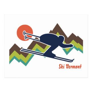 Esquí Vermont Postal