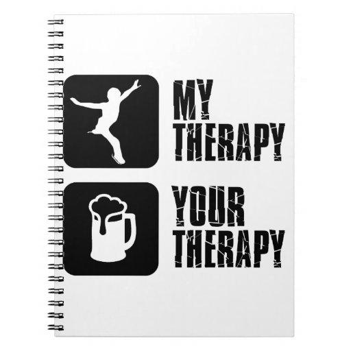 esquía mi terapia libro de apuntes