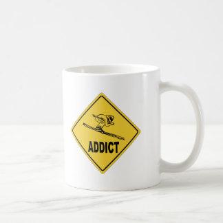 Esquiador 2 tazas de café