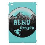 Esquiador artístico de Oregon de la curva