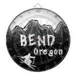 Esquiador artístico de Oregon de la curva Tabla Dardos