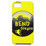 Esquiador artístico de Oregon de la curva iPhone 5 Cobertura