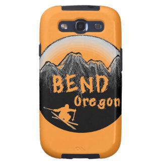 Esquiador artístico de Oregon de la curva Samsung Galaxy S3 Funda