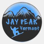 Esquiador artístico máximo de Jay Vermont Pegatinas