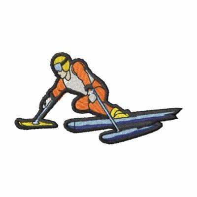 Esquiador de Paralympic Sudadera Bordada