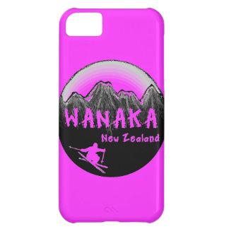 Esquiador de Wanaka Nueva Zelanda Funda Para iPhone 5C