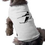 Esquiador del agua - esquí acuático ropa de mascota