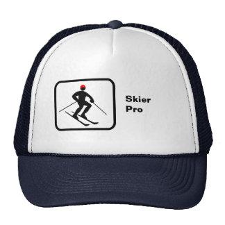 Esquiador favorable gorras de camionero