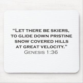 Esquiador/génesis Tapetes De Ratones