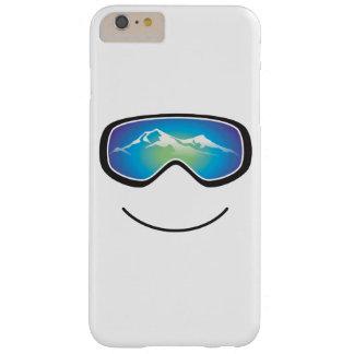 Esquiador/huésped felices funda barely there iPhone 6 plus