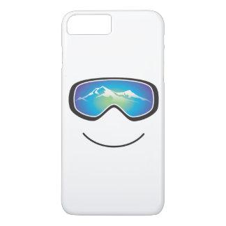Esquiador/huésped felices funda iPhone 7 plus