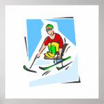 Esquiador Poster