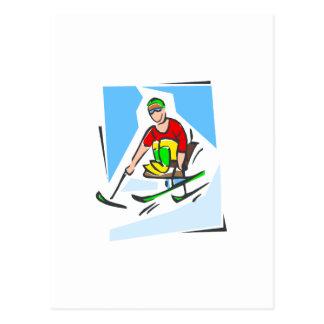 Esquiador Postal