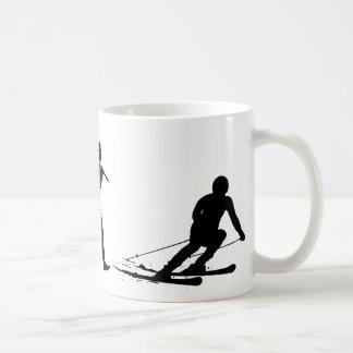Esquiador Tazas