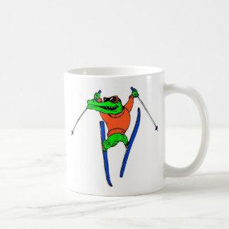 Esquiador Taza De Café