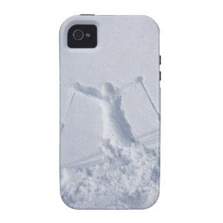 Esquiadores 2 vibe iPhone 4 carcasa