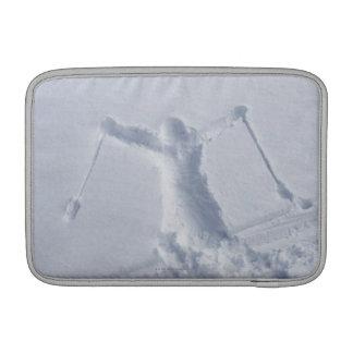 Esquiadores 2 funda  MacBook