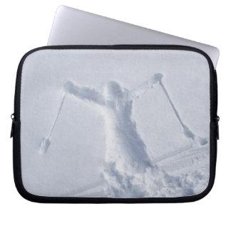 Esquiadores 2 mangas portátiles