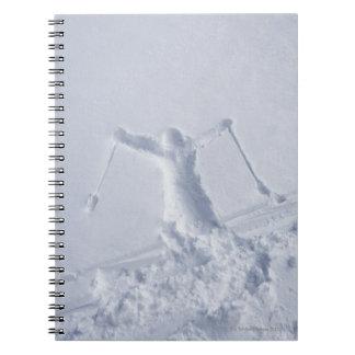 Esquiadores 2 libro de apuntes