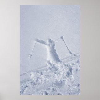 Esquiadores 2 impresiones