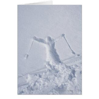 Esquiadores 2 felicitacion