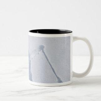 Esquiadores 2 taza de café