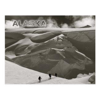 Esquiando en la gama de Alaska, Denali Postales