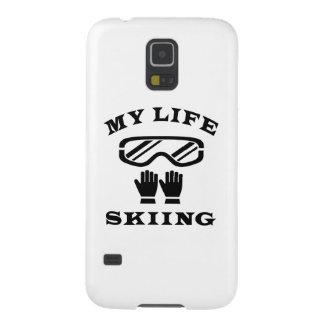 Esquiando mi vida funda de galaxy s5