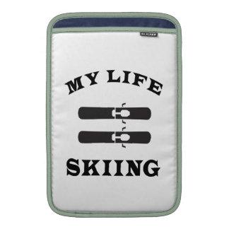 Esquiando mi vida fundas MacBook