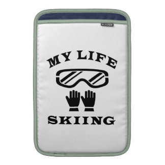 Esquiando mi vida fundas macbook air