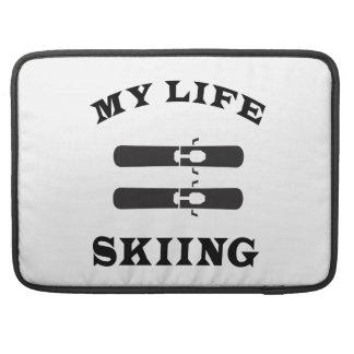 Esquiando mi vida fundas para macbook pro
