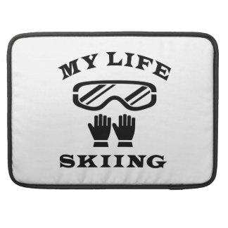Esquiando mi vida fundas macbook pro