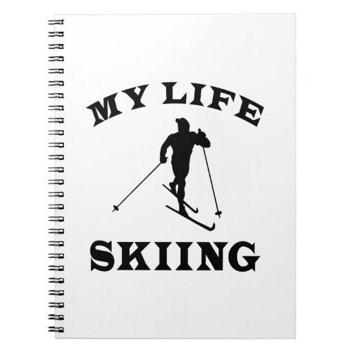 Esquiando mi vida libreta