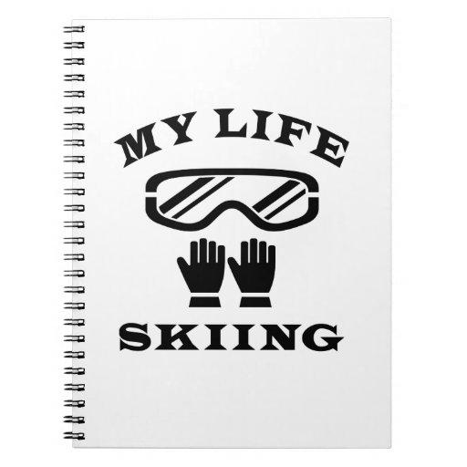 Esquiando mi vida libro de apuntes