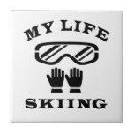 Esquiando mi vida teja