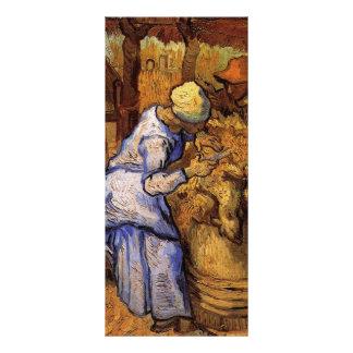 Esquiladores de las ovejas de Vincent van Gogh Lona Personalizada