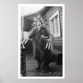 Esquimal 1912 del curandero poster