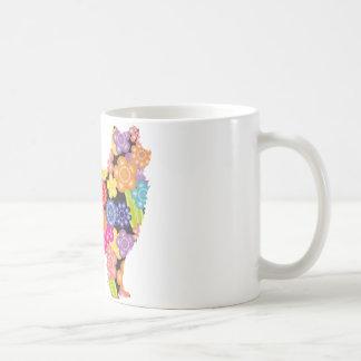Esquimal americano taza básica blanca