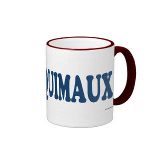 Esquimaux Blue Ringer Mug