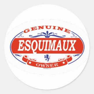 Esquimaux  classic round sticker