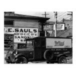 Esquina de calle de New Orleans Luisiana Postal