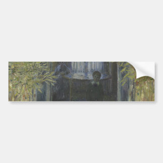 Esquina del apartamento de Claude Monet Pegatina Para Auto